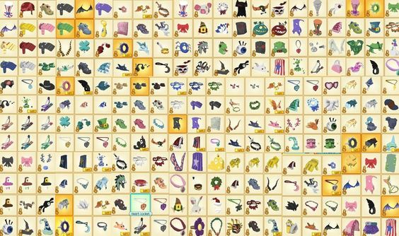 Here are some rares you cans find on Animal Jam!