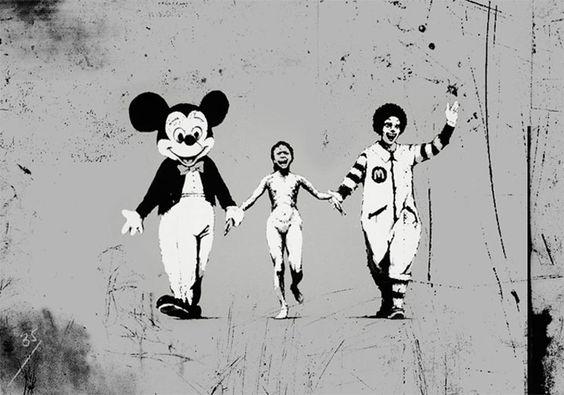 l'artiste Banksy