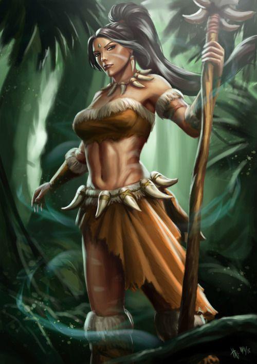 Nidalee Hentai 3D, League Of Legends - Maîtrise De La Jungle