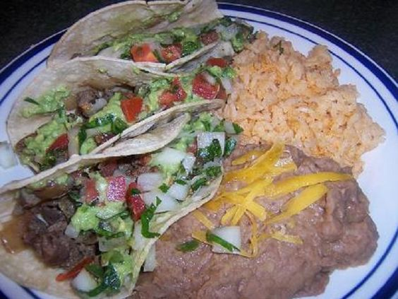 Authentic Mexican Style Carne Asada Tacos recipe. Step by step recipes for carne asada, pico de gallo and guacamole. You'll love this recipe!  I used flap meat from Sam's Club.  Cheaper than pricey flank steak and the flavor was amazing!  Made it twice already this week along with the Carne Asada Burrito, too.