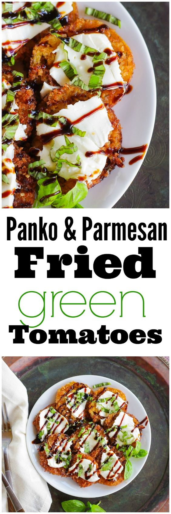 fried green tomatoes parmesan crusted green tomatoes parmesan tomatoes ...