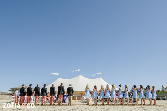 Galley Beach Wedding Nantucket Featured In The Knot Boston