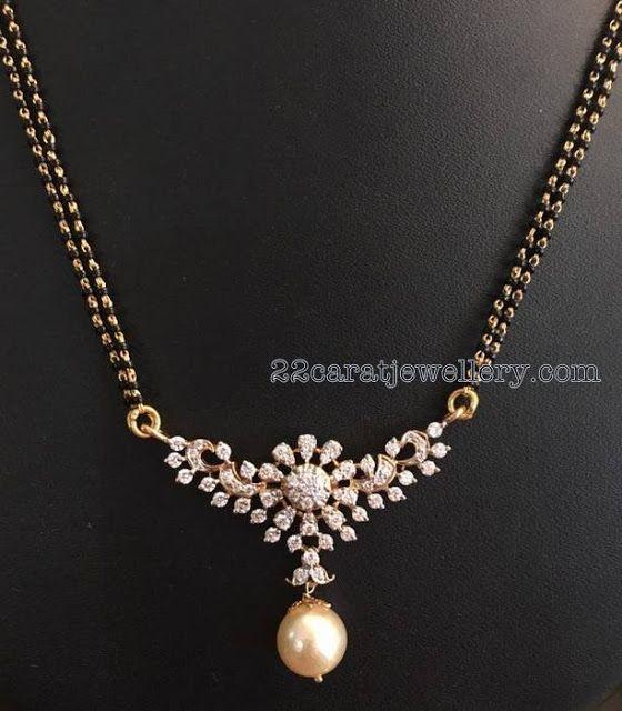 Buy Kundan Choker Necklace Priya Nacc10438c: Latest Black Beads Sets Gallery