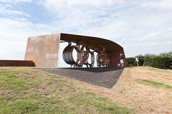 El banco más largo / The longest bench - Archkids. Arquitectura para niños. Architecture for kids. Architecture for children.