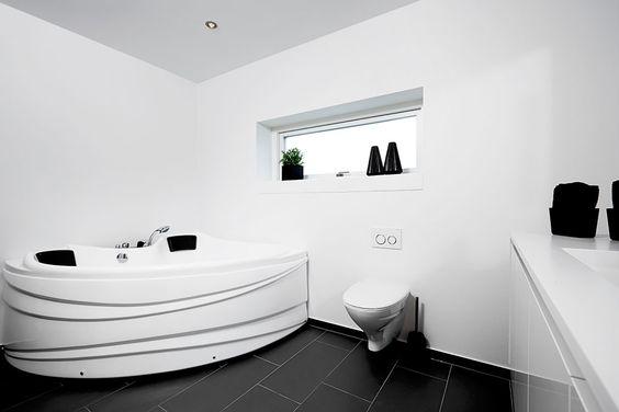 Inspiration til badeværelset #hus #huscompagniet #vinkelhus ...