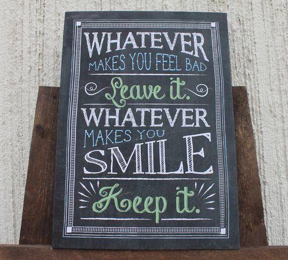 Decorative Chalkboard Signs Pinterest  The World's Catalog Of Ideas