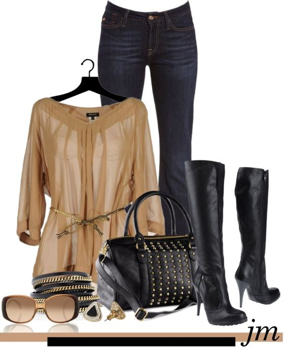 """""""On the edge"""" by jenniemitchell ❤ liked on Polyvore"""