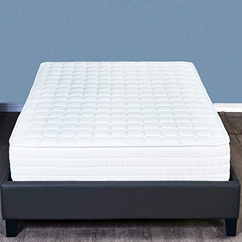 8 Inch Memory Foam Mattress And Innerspring Hybrid Mattress Medium Firm Feel Full With Images Foam Mattress Memory Foam Mattress Twin Mattress Size
