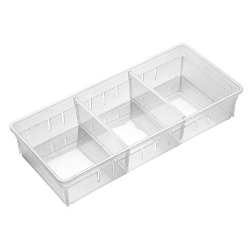 Amazon Com Chris W Desk Drawer Organizer Tray With Adjustable Dividers Multi Drawers For Makeups Organized Desk Drawers Desk With Drawers Drawer Organisers