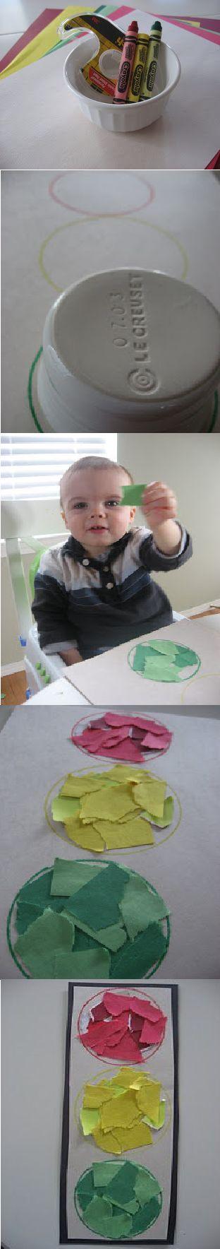 DIY: Atividade de Crianças - Semáforos