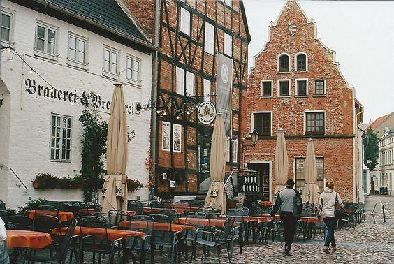 ingelnook:  wismar, pretty house found on walk from m. muraskin-germany 3 by m. muraskin on Flickr.