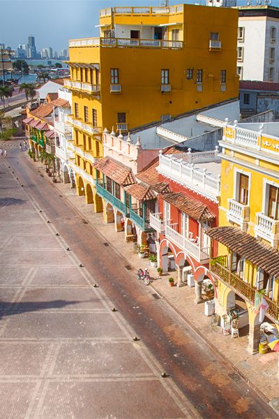 Cartagena is just a 5-hour flight from NYC and full of tropical sun and historic buildings.