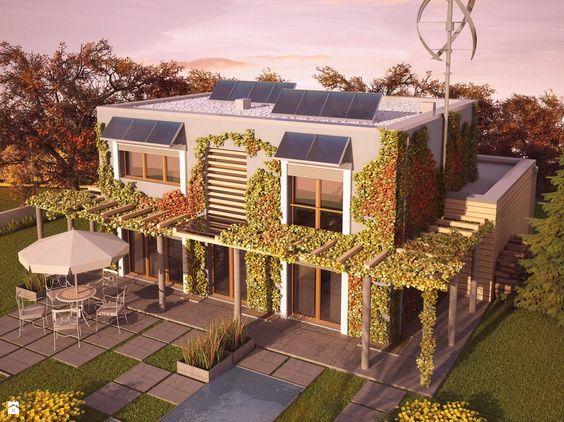 Zielony - zdjęcie od Domy Czystej Energii - Domy - Styl Nowoczesny - Domy Czystej Energii