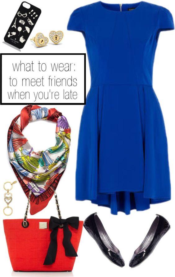 what wear when meeting friends