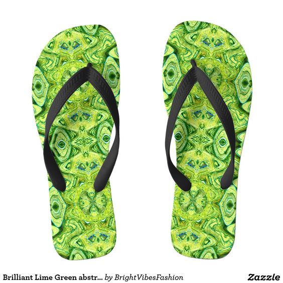 Brilliant Lime Green abstract pattern