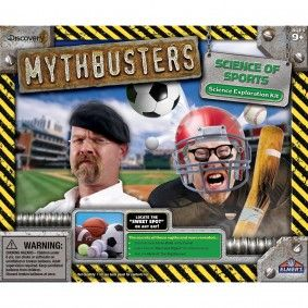 This is totally funny. For the elusive jock dork.: Mythbusters Newest, Sack Groundout, Mythbusters Science, Science Secret, Gift Ideas, Groundout Mythbusters, Christmas Gifts Delights, Goal Sack