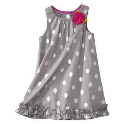 Genuine Kids from OshKosh™ Infant Toddler Girls' Dress - Grey