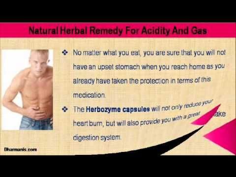 This video describe about the best natural herbal remedy for acidity and gas. You can find more detail about Herbozyme Capsules at http://www.dharmanis.com