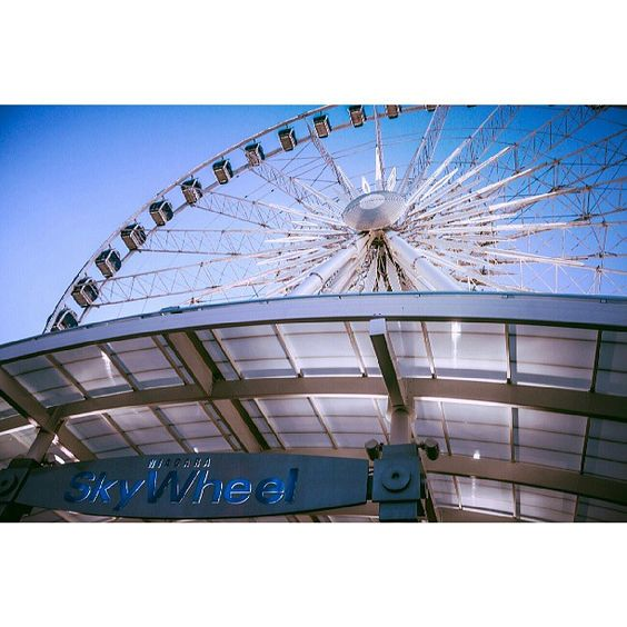 #NiagaraFalls #SkyWheel #CliftonHill Photo by jbleakley2