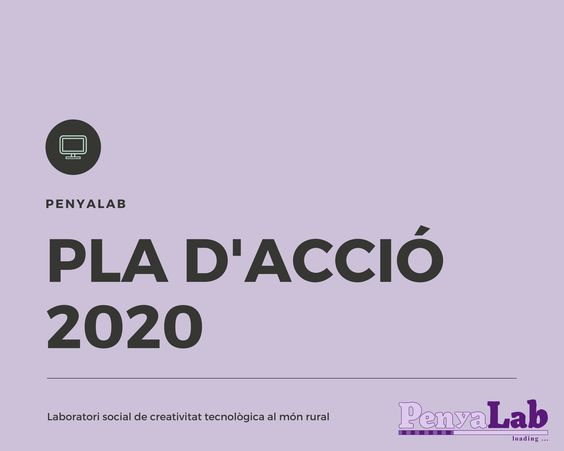 Pla d'acció PenyaLab 2020