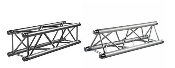 Estructuras y trusses de aluminio para la formación de escenarios, y la elevación de telones para teatros. www.telonesmadisson.net