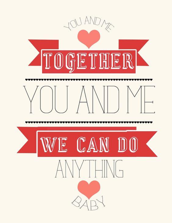 Juntos tu y yo podemos hacer todo!!  Handmade España