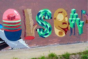Olsen – view more (neoart) images @ http://www.juxtapoz.com/Graffiti/olsen – #graffiti #olsen #themeletters