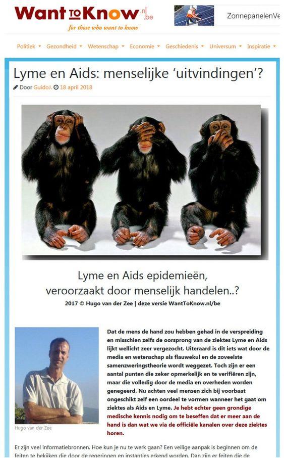 VS-overheid geeft toe: 'Lyme als biowapen ontworpen'..!! – WantToKnow.nl