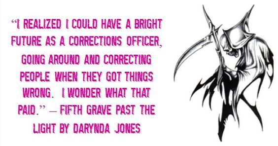 Fifth Grave Past the Light (Charley Davidson Series, #5) by Darynda Jones: