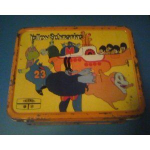 "The Beatles ""Yellow Submarine"" Metal Lunchbox 1969"