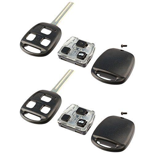 Key Fob Keyless Entry Remote Shell Case Pad Fits Lexus Es300 Es330 Gs300 Gs400 Gs430 Is300 Ls400 Ls430 Sc430 Set Keyless Keyless Entry Keyless Entry Systems