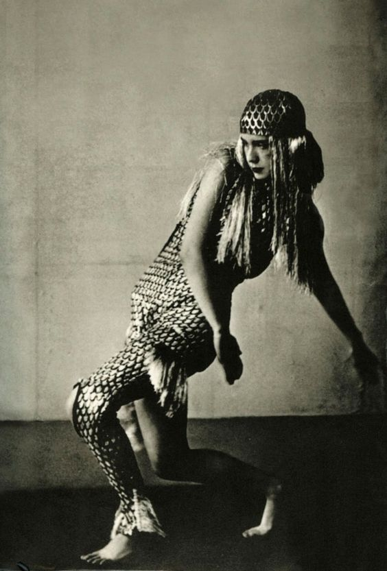 Lucia Joyce, daughter of James Joyce and lover of Samuel Beckett. Dancing at Bullier Ball, Paris, May 1929