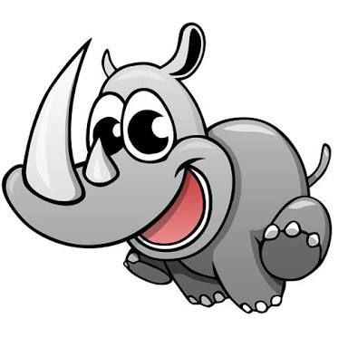 cute rhino cartoon - Google Search | RHINOS | Pinterest | Cartoon ...
