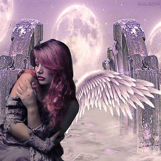 an angelic world