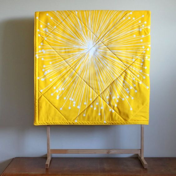 Super Size Modern Baby Playmat Double by PeppermintPinwheels, $150.00