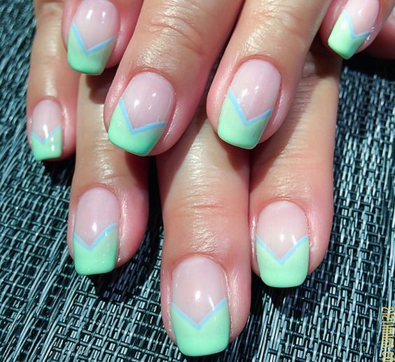 28 simple and stunning v shaped nail art designs httpslodive 28 simple and stunning v shaped nail art designs httpslodiveinspiration28 simple stunning v shaped nail art designs claws pinterest long prinsesfo Images