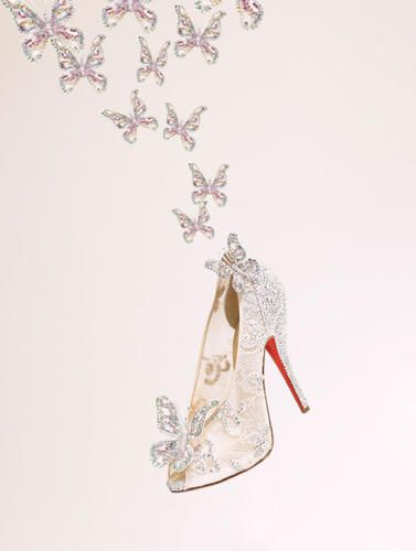 Christian Louboutin tells Cinderella story to Jeanne Beker #fashion #shoes