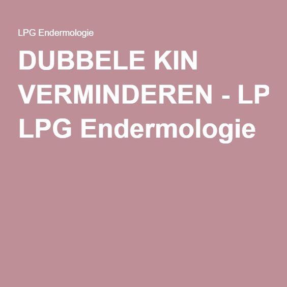 DUBBELE KIN VERMINDEREN- LPG Endermologie
