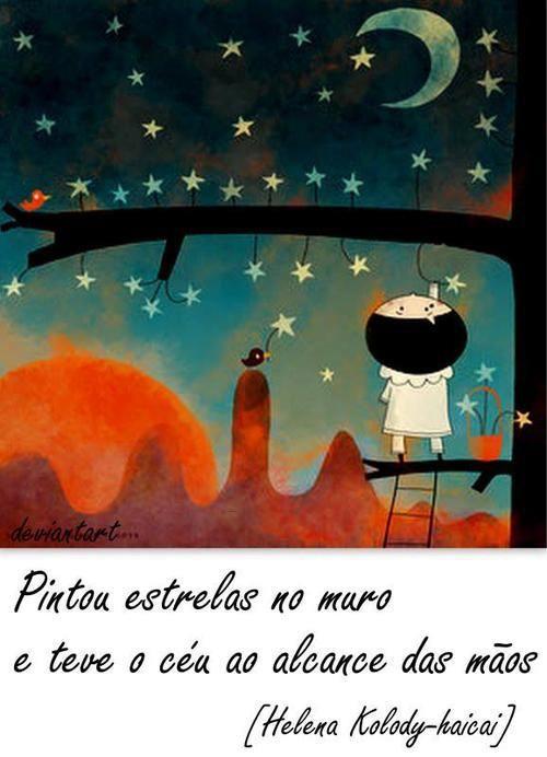 Pintou estrelas...