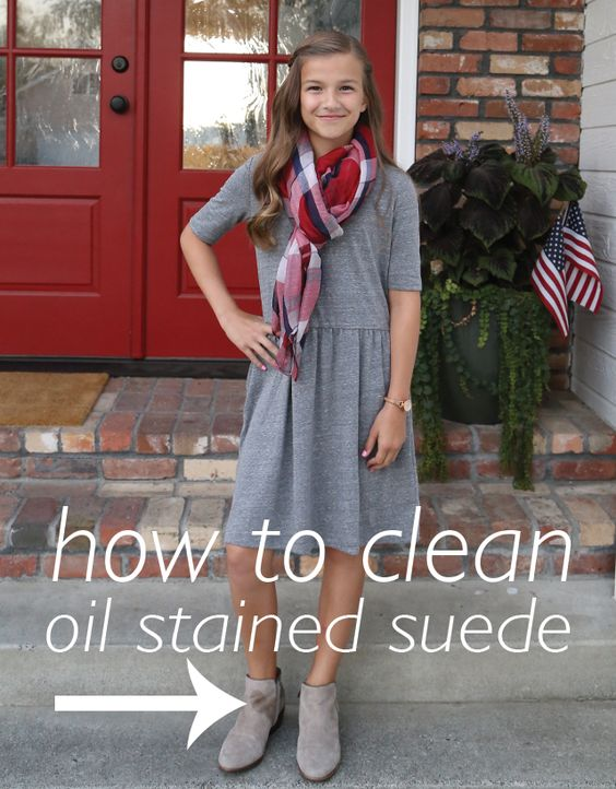 How To Clean Oil Stained Suede