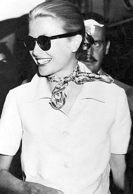The Princess Grace Kelly of Monaco. #hermès#silk scarf.
