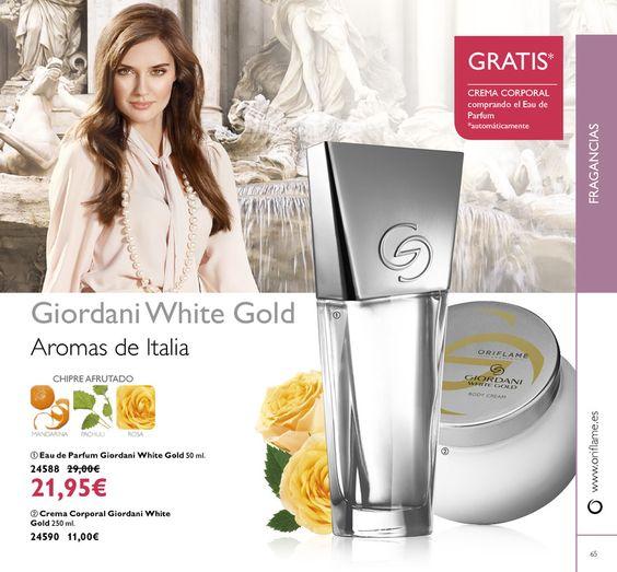 EL RINCON ORIFLAME DE LAURA: #ORIFLAME Eau de Parfum,Crema Corporal Giordani Wh...