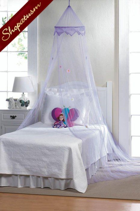 Girls Bed Net Magical Purple Bed Canopy Childrens Bedroom Decor Purple Bedding Childrens Bedroom Decor Princess Canopy Bed
