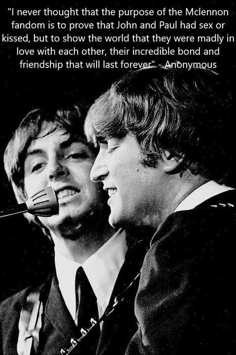 Mclennon One Two Three Faw Lennon And Mccartney Beatles Funny The Beatles