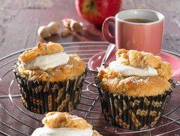 Erdnuss-Apfel-Muffins