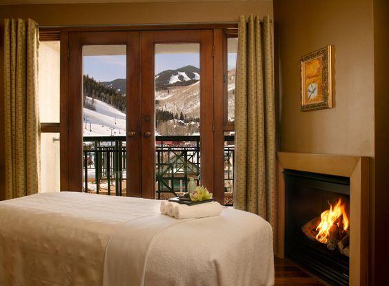 Allegria Spa, Park Hyatt Beaver Creek in Beaver Creek, CO. Massage Rooms