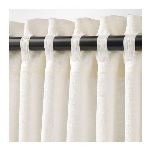 Lejongap Curtains 1 Pair White 57x98 Ideias De Cortina Cortinas Decoracao De Casa
