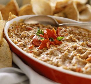 The creamiest artichoke asiago dip. What are you making for the game?