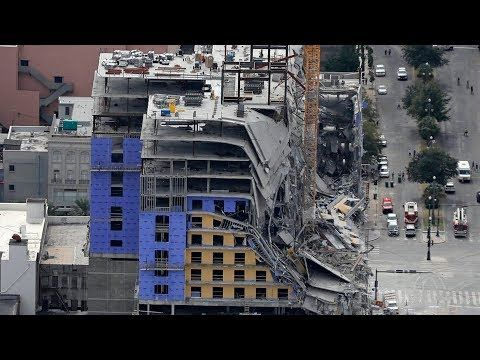 Watch Live Collapsed Hard Rock Hotel Is Demolished In New Orleans