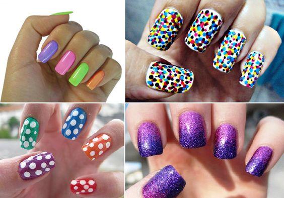 Unhas coloridas - http://fotosunhas.com/unhas-coloridas/